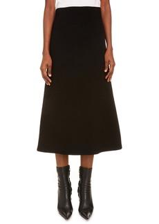 Balenciaga Technical Rib Midi Skirt