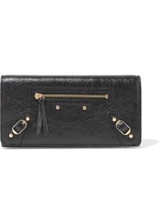 Balenciaga Textured-leather Wallet