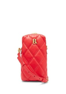 Balenciaga Touch mini quilted-leather cross-body bag
