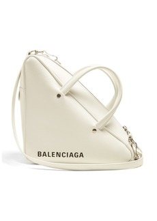 Balenciaga Triangle Duffle S leather bag