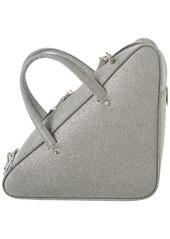 Balenciaga Triangle Duffle Small Glitter Leather Crossbody
