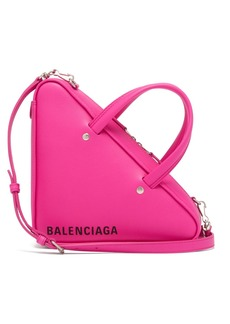 Balenciaga Triangle Duffle XS leather bag