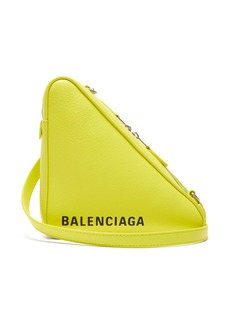 Balenciaga Triangle Pochette S leather bag