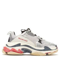 Balenciaga Triple S low-top leather trainers