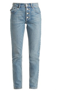 Balenciaga Tube straight-leg jeans