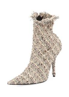 Balenciaga Tweed 110mm Booties