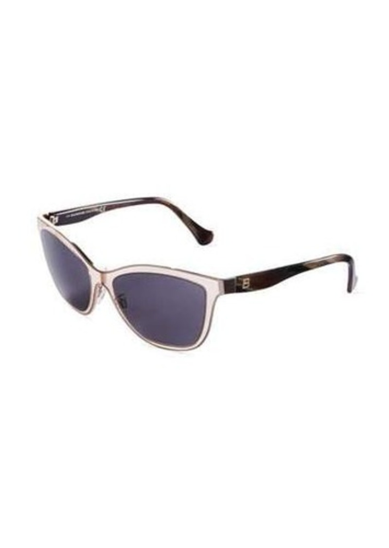 Balenciaga Two-Tone Cat-Eye Sunglasses