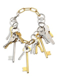 Balenciaga Two-Tone Chain Necklace