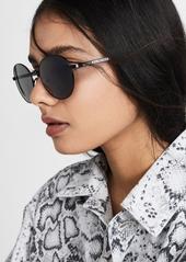 Balenciaga Verso Metal Round Sunglasses