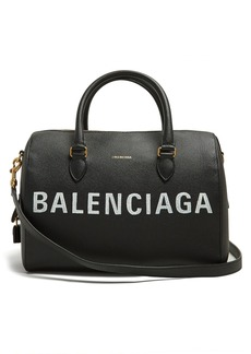 Balenciaga Ville Bowling M leather bag