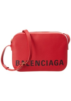 Balenciaga Ville Everyday Small Leather Camera Bag