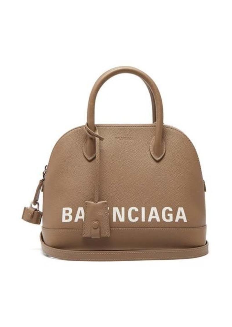 Balenciaga Ville small leather cross-body bag