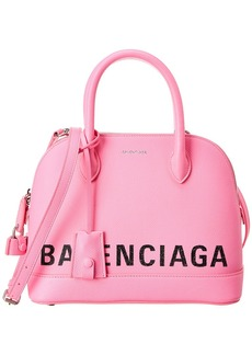 Balenciaga Ville Small Leather Top Handle Satchel
