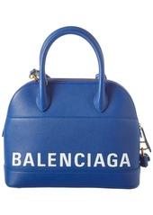 Balenciaga Ville Small Leather Top Handle Satchel