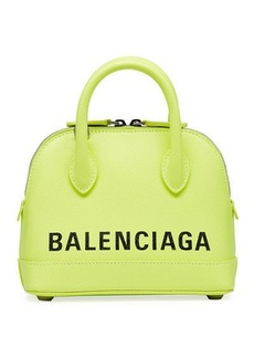 Balenciaga Ville XXS AJ Top-Handle Bag with Logo