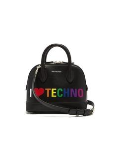 Balenciaga Ville XXS leather cross-body bag
