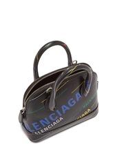 Balenciaga Ville XXS printed leather bag