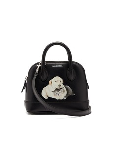 Balenciaga Ville XXS puppy-print leather bag