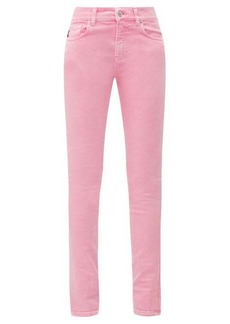 Balenciaga Washed-denim skinny jeans