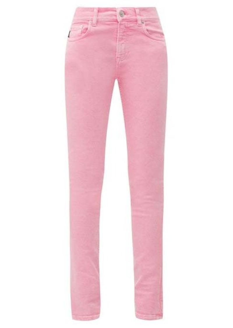 Balenciaga Washed-denim skinny jeans