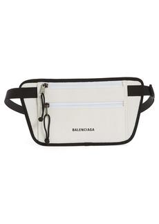 Balenciaga Weekend Leather Belt Bag