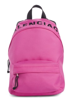 Balenciaga Wheel Canvas Backpack