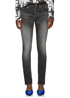 Balenciaga Women's Archetype Colorblocked Skinny Jeans