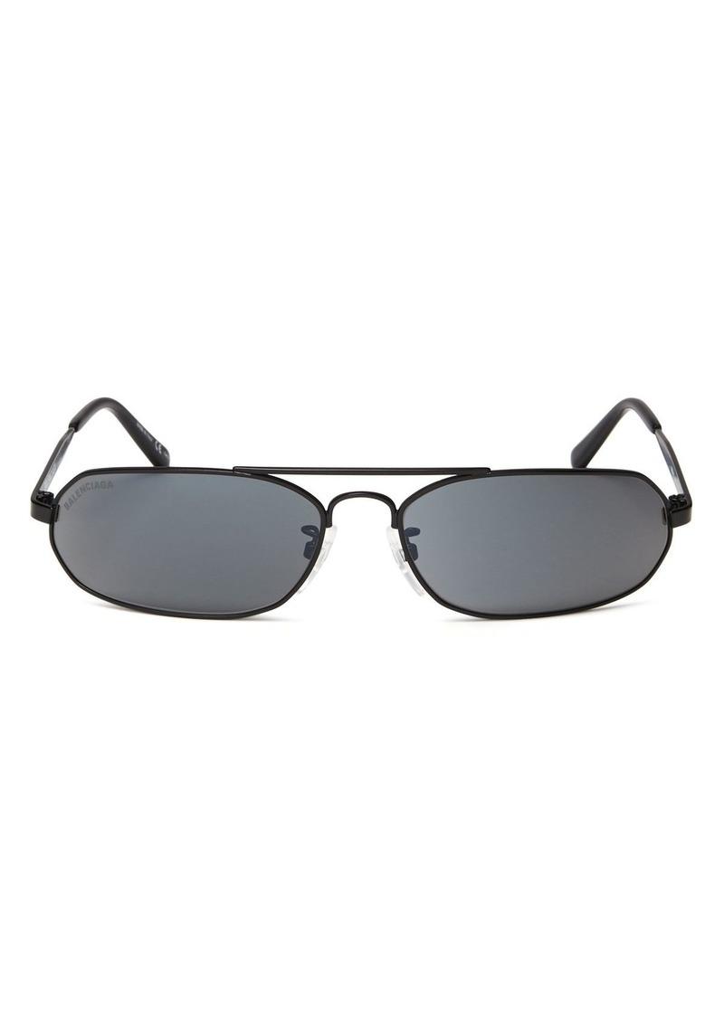 b2b6ccb0f7 Balenciaga Balenciaga Women s Brow Bar Rectangular Sunglasses