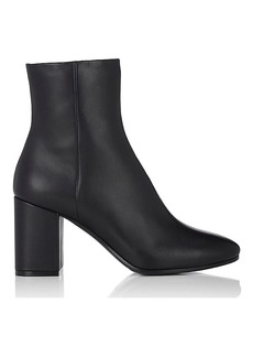 Balenciaga Women's Chunky-Heel Leather Ankle Boots