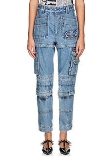 Balenciaga Women's Convertible Cargo Jeans