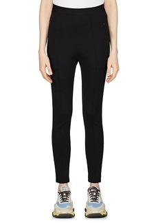 Balenciaga Women's Crepe-Knit Jogger Pants