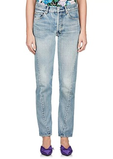 Balenciaga Women's Crop Skinny Jeans