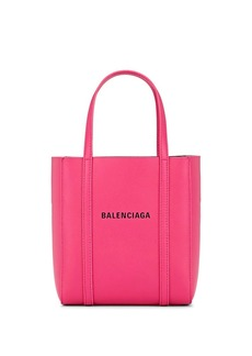Balenciaga Women's Everyday Extra-Extra-Small Leather Tote Bag - Pink