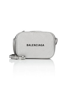 Balenciaga Women's Everyday Extra-Small Leather Camera Bag - Silver