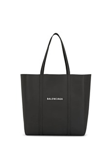Balenciaga Women's Everyday Small Leather Tote Bag - Gray