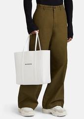 Balenciaga Women's Everyday Small Leather Tote Bag - White
