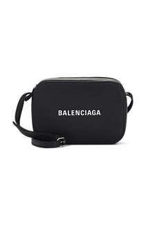Balenciaga Women's Everyday XS Leather Camera Bag - Black
