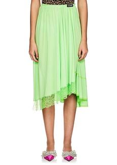 Balenciaga Women's Fluid Jersey Asymmetric Skirt