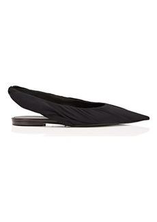 Balenciaga Women's Knife Tech-Georgette Slingback Flats