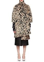 aa22c6b6dff Balenciaga Balenciaga Women's Leopard-Print Faux-Fur Opera Coat ...