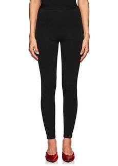 Balenciaga Women's Logo-Waistband Skinny Jogger Pants