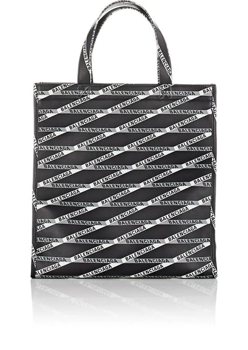 Balenciaga Women's Market Shopper Small Leather Tote Bag - Black