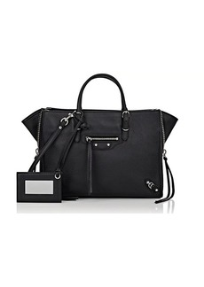 Balenciaga Women's Papier A6 Side-Zip Tote - Black