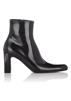 Balenciaga Women's Patent Leather Ankle Boots