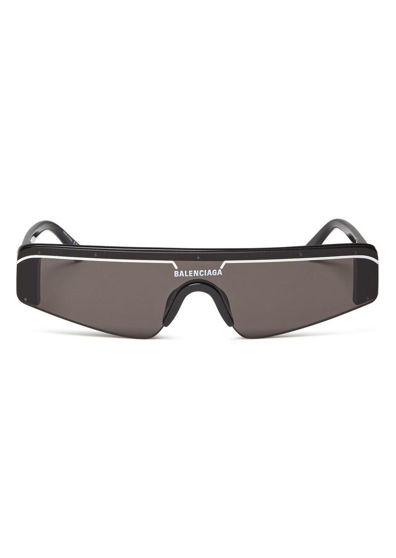 afc150d5fb Balenciaga Balenciaga Women s Rectangular Shield Sunglasses