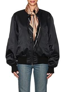 Balenciaga Women's Scarf Bomber Jacket