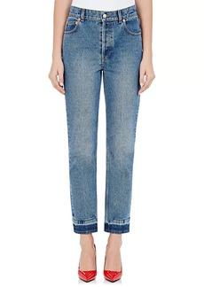 Balenciaga Women's Straight Crop Jeans