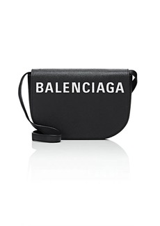 Balenciaga Women's Ville Day Leather Crossbody Bag - Black