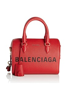 Balenciaga Women's Ville Leather Satchel - Red