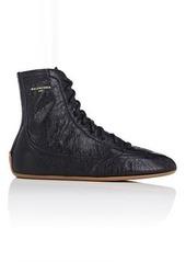 Balenciaga Women's Women's Leather Boxing Sneakers